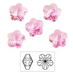 6mm Swarovski Bead 5744 Flower Beads
