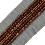 Wooden Beaded Trim by Yard, OSB-30128