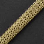 10mm Fine Metallic Braid Trim by yard, MAY-AL318