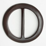Round Acrylic Buckle by pc, SP-2142