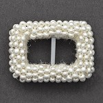 Rectangle Beaded Buckle, FF-RECTANGLE BEADED BUCKLE