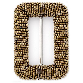 Bronze Beaded Buckle by pc, GIL-78398