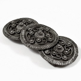Vintage Metal Belt Buckle by set, LT-5478