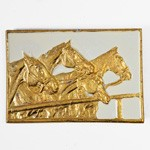 Vintage Horse belt buckle by pc, LT-5502B