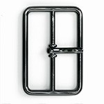 Gunmetal Metal Belt Buckle, TR-11680