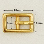 Rectangular Metal Buckle, A8491