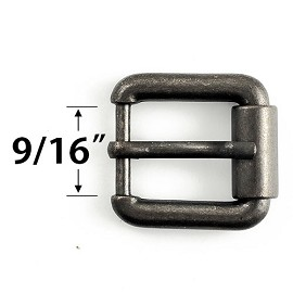 "9/16"" Metal Buckle by PC, GN-2060"