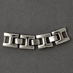 Silver Metal Buckle by pc, SP-2180
