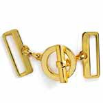 2-1/8'' Metal Closure Buckle, Metal Clasps by 1 Set, SEE-BK1007