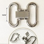 Metal Buckle Closure, A5874