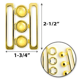 Metal Closure Buckle, TR-10087