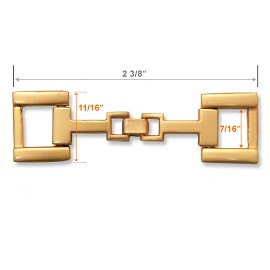 Metal Chain Buckle, A7154