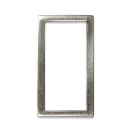 "1-1/4"" Rectangle Metal Ornament, A7643-7"