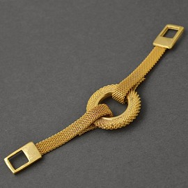 Gold Metal Buckle Accessory, Metal Chain, Metal Connector, SP-2209