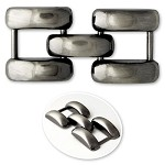 Metal Ornament Buckle, TR10290