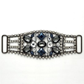 Rhinestone Buckle Accessory by pc, TR-10067