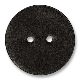 2-Hole Leather Button, SEE-TR10030