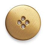 25mm (1'') Metal Button with 4-Hole by pc, BEA-20962