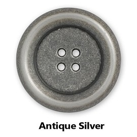 Metal Blazer Button with 4-Hole, BEA-20945