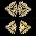 Rhinestone Closure with Shanks, T-1113