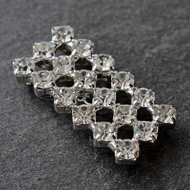 Rhinestone Closure with Shanks by pc, T-1515