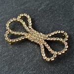 Rhinestone Hook & Eye Closure by pc, T-1603