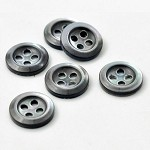 4-Hole Trocas Shell Button by pc, GN-2007