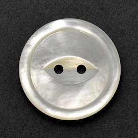 2-Hole Shell Button, BTN-229