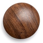Wood Button with Shank, MAY-WB6650