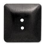 Square Wood Button, MAY-WB65601/2