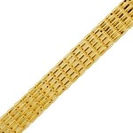 10mm Metal Rectangle Mesh Chain by YD, GOL-237