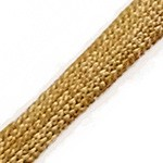 12mm Soft Metallic Craft Rope Cord Trim by Yard, TR-11904