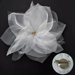 Flower Pin with Hair Clip by pc, TR-10489