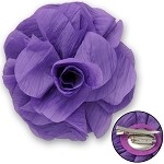 Flower Pin with Hair Clip by pc, TR-10490