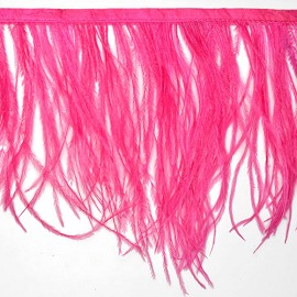 Ostrich Feather Fringe by yard, TFP-F005