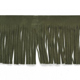 "2-1/2"" Long Ultrasuede  Fringe Trim by Yard, YD-621"