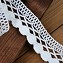 Vintage White Cluny Cotton Lace Trim by Yard, WIN-057