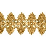 Metallic Lace Trim by YD, LP-MX-4311