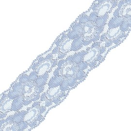 "1-5/8"" Non-stretch Raschel Lace by YD, SEE-NSL-0063"