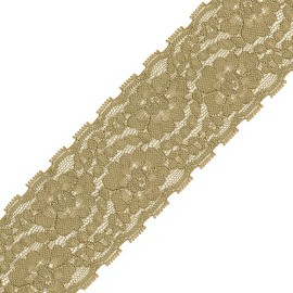 "2"" Non-stretch Raschel Lace Trim by YD, SEE-NSL-0125"