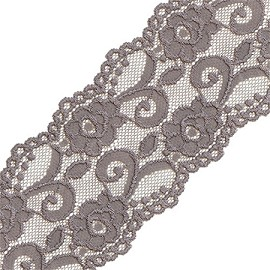 "3-3/4"" Raschel Stretch Lace Trim by YD, SEE-SL-0323"