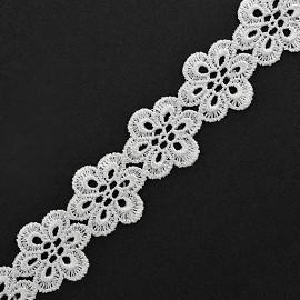 "1-1/8"" Venise Lace Ribbon Trim by YD, BAT-6833"