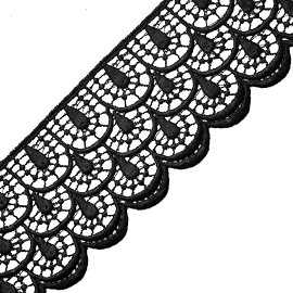 "2-5/8"" Venise Lace Ribbon Trim by YD, BAT-6952"