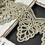 Venise Lace Ribbon Trim by Yard, Ivory, SP-2392