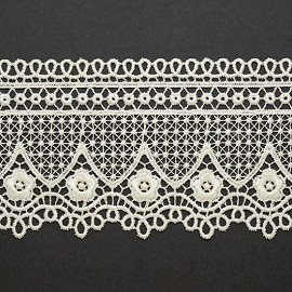 "3"" Venise Lace Ribbon Trim by Yard, BAT-6103"