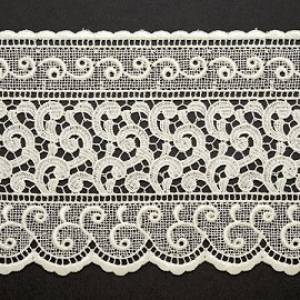 "4-1/2"" Venise Lace Ribbon Trim by YD, BAT-6472"