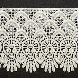 "3-1/2"" Venise Lace Ribbon Trim by YD, BAT-6963"