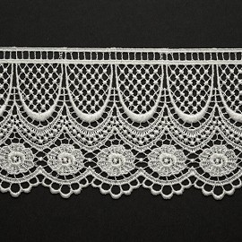 "3-1/4"" Venise Lace Ribbon Trim by YD, BAT-6975"