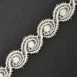 "1"" Venise Lace Ribbon Trim by YD, ROI-4643"