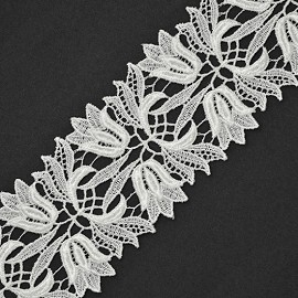 "3"" Venise Lace Ribbon Trim by Yard, ROI-4677"